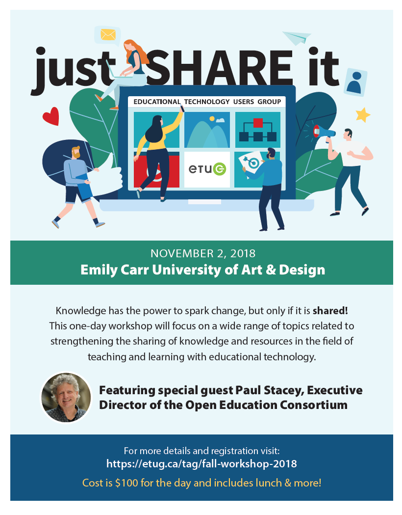 Fall 2018 ETUG Workshop Promotional Poster