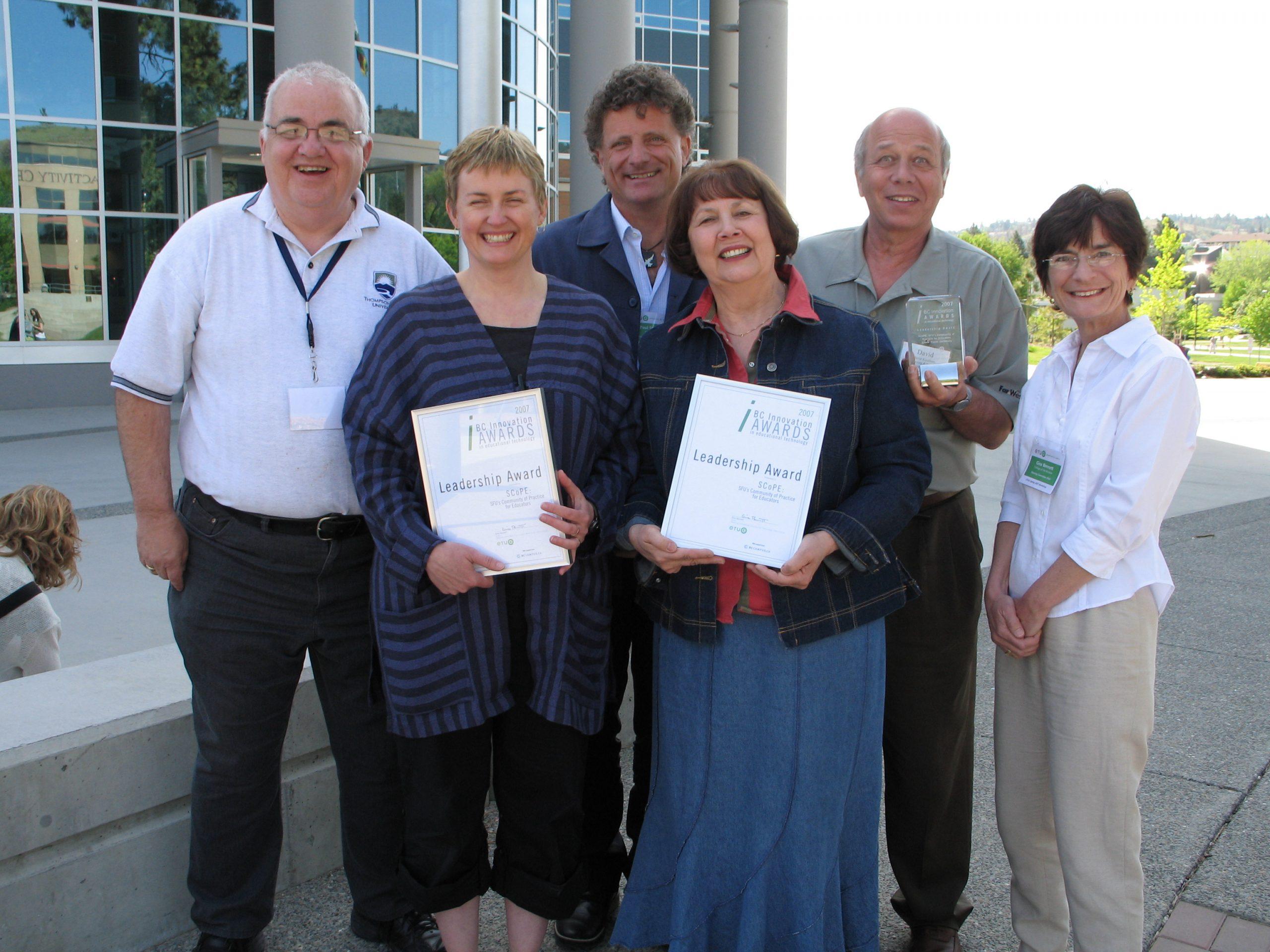 ETUG Spring 2007 Innovation Award Winners
